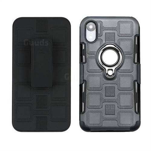 iphone xs max 3 in 1 black case