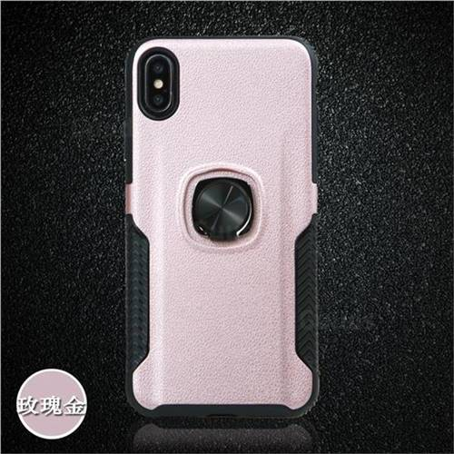iphone xs case with ring holder gold