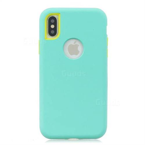 iphone xs phone case blue