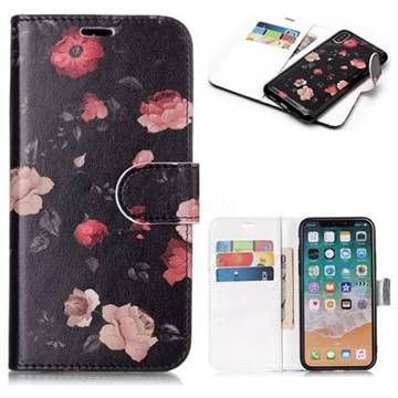 reputable site c1771 26593 Safflower Detachable Smooth PU Leather Wallet Case for iPhone XS Max (6.5  inch)