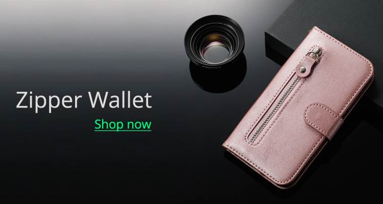 Guuds Zipper Wallet Phone Case
